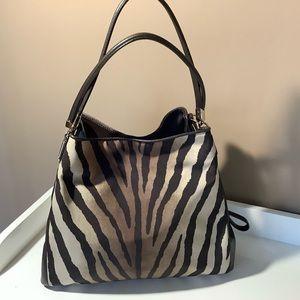 Coach Madison Phoebe Zebra  shoulder bag 26636